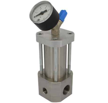 Pressure regulator for adhesive application