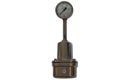 Manual pressure regulator for adhesive application